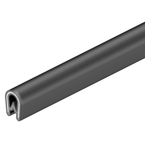 Protector muchii 6072909 negru, 1 - 2 mm, 10 m