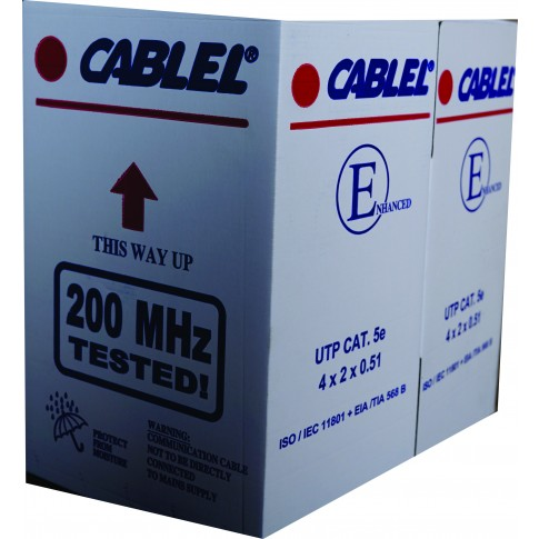 Cablu UTP Cat 5e 4 x 2 x 24 AWG, cupru