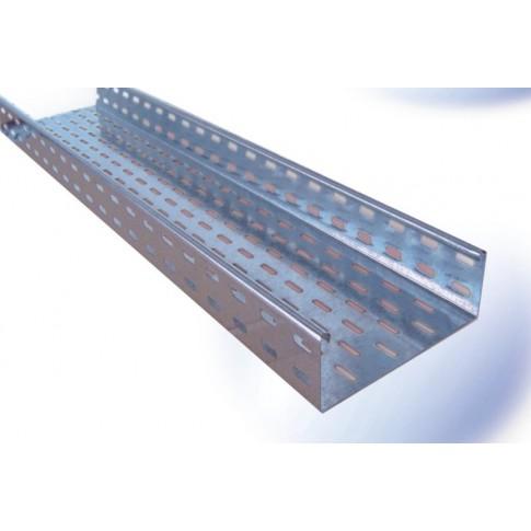 Jgheab metalic 12-605, otel galvanizat, 1 x 60 x 400 mm