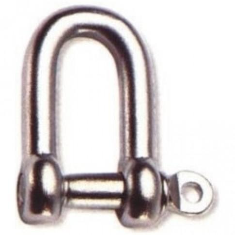 Chei tachelaj drepte, Cablero CD021A05U, cu bolt filetat de 5 mm, set 2 bucati