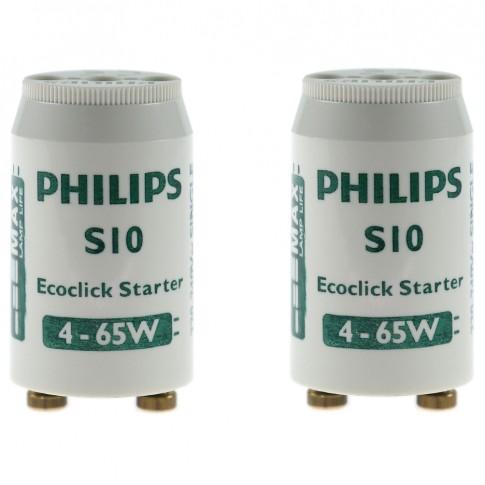 Starter S10 Ecoclick, 4 - 65W Philips - 2 buc