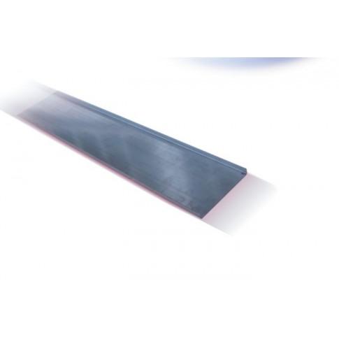 Capac jgheab 12-011, otel galvanizat, 100 x 15 x 0.75 mm
