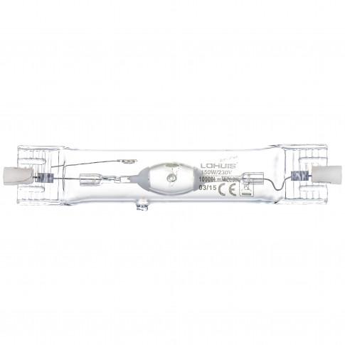 Bec cu halogenura metalica Lohuis RX7S 150W 10000lm lumina neutra