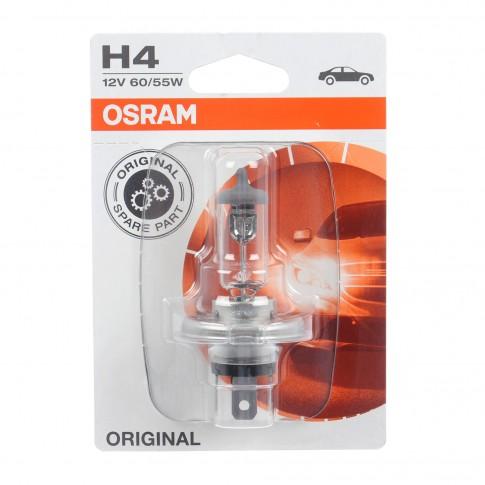 Bec auto pentru far Osram H4 Standard, 55 W, 12 V