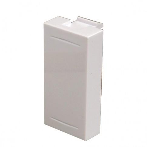 Obturator Esperia 300512 B, alb, pentru priza / intrerupator