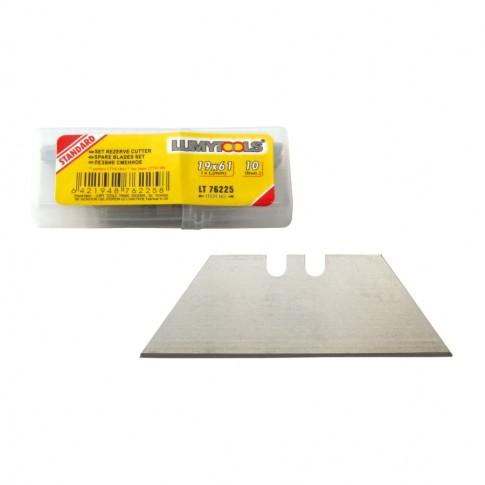 Lame cutter, Lumytools LT76225, 19 mm, set 10 bucati