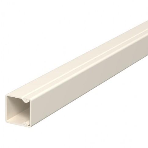 Canal cablu WDK 6025153, 17.5 x 17.5 mm, alb crem