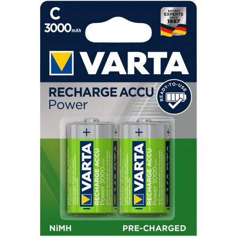 Acumulator Varta Accu Power 56714, R14 ( C ), 3000 mAh, 2 buc
