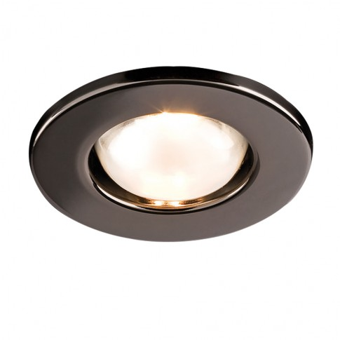Spot incastrat FR 39 70217, E14 / R39, negru