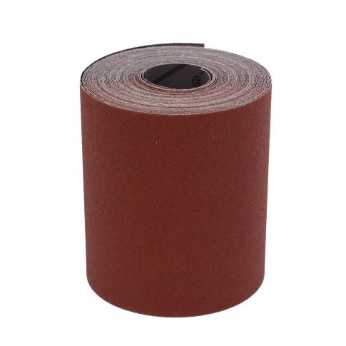 Rola panza abraziva pentru lemn, metale, constructii, Ama, granulatie 80, rola 10 m x 100 mm