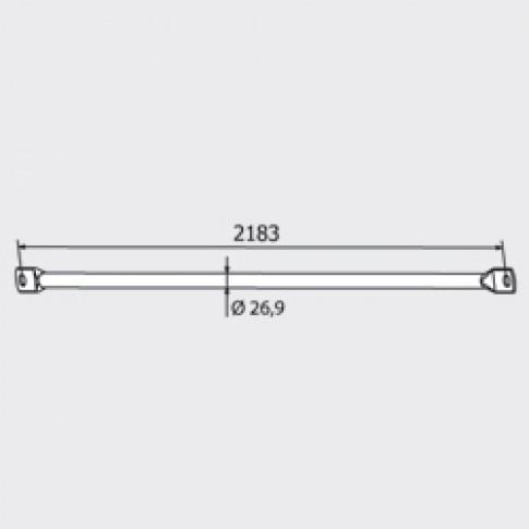 Diagonala zincata pentru schela, tip H, 50553