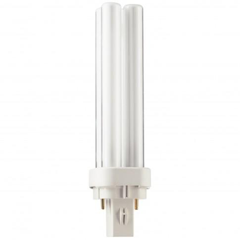 Bec economic Philips Master PL-C 2P tubular G24d-1 13W 900lm lumina calda 3000 K