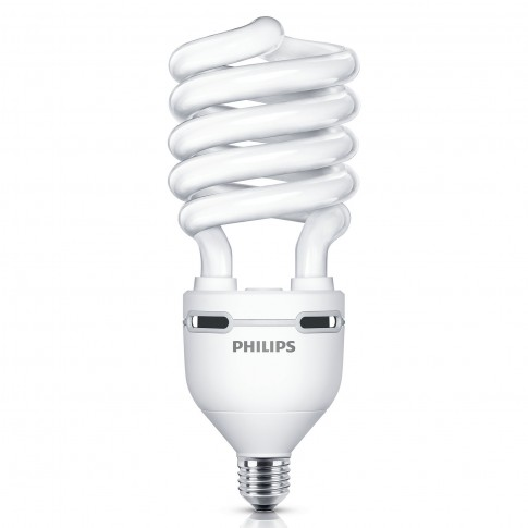 Bec economic Philips Tornado EHL spiralat E27 60W 4300lm lumina rece 6500 K