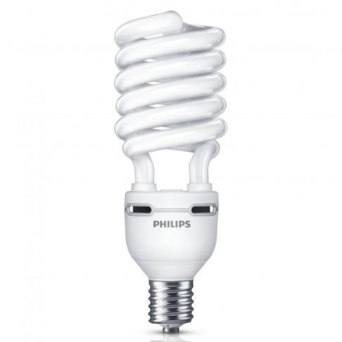 Bec economic Philips Tornado EHL spiralat E40 75W 5550lm lumina rece 6500 K