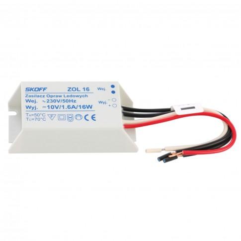 Transformator Skoff ZOL 16, 10V, 1.6A, 16W