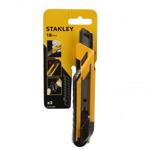 Cutter universal, Stanley STHT10266-0, 18 mm + 3 rezerve