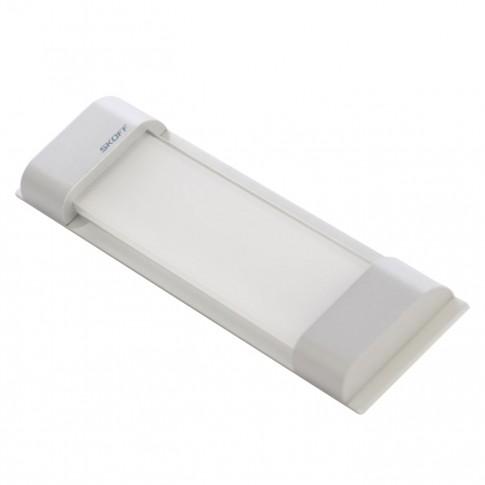 Spot LED alb aparent Rumba Stick Skoff, 0.8W, aluminiu