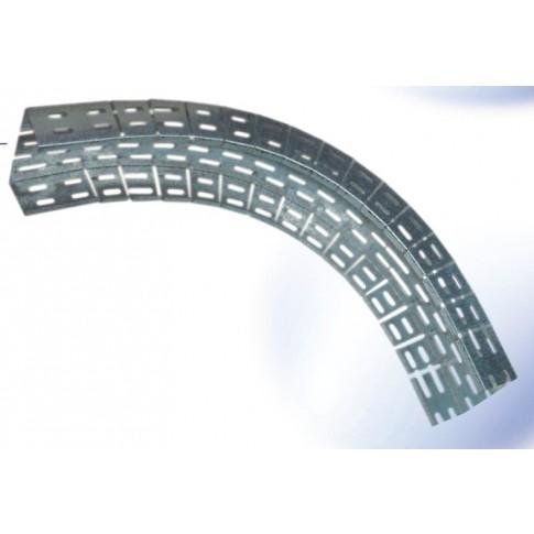 Cot flexibil 12-665, otel galvanizat, 400 x 60 x 1 mm