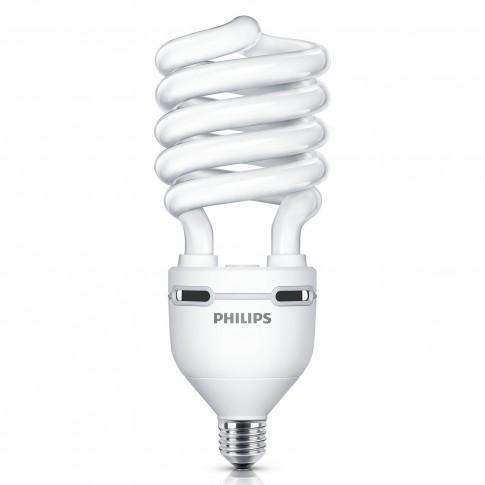 Bec economic Philips Tornado EHL spiralat E40 75W 5550lm lumina calda 2700 K