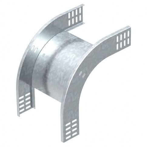 Cot vertical 90 grade coborare FS 7007055, otel, 60 x 100 mm