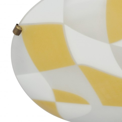 Plafoniera Larissa KL 5254, 2 x E27, multicolora