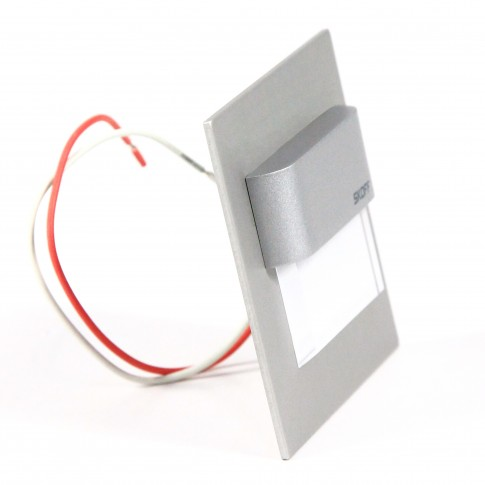 Spot LED alb aparent Tango Stick Skoff, 0.8W, 32 lm, dimabil, aluminiu