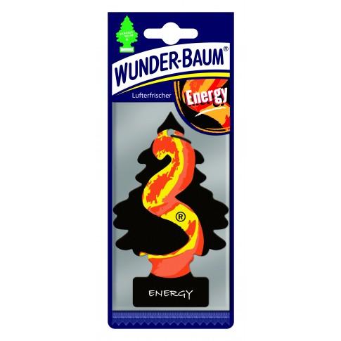 Odorizant auto, bradut, Wunder - Baum, Energy, 7.6 x 0.3 x 19 cm