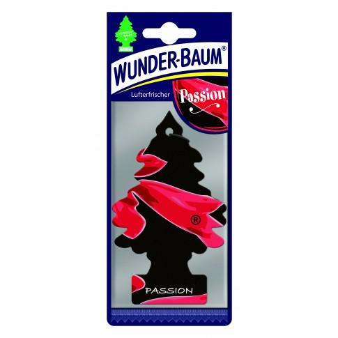 Odorizant auto, bradut, Wunder - Baum, Passion, 7.6 x 0.3 x 19 cm