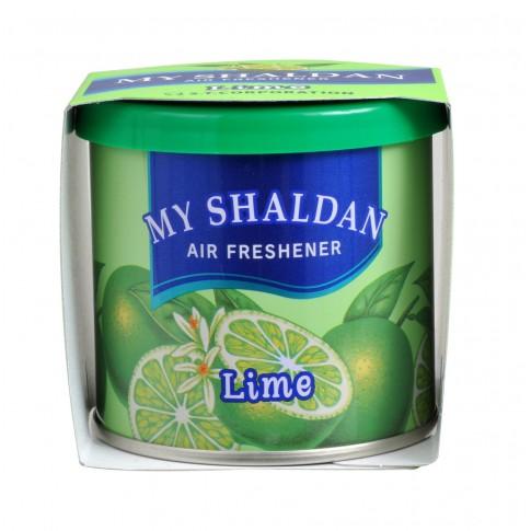 Odorizant auto gel My Shaldan, lime