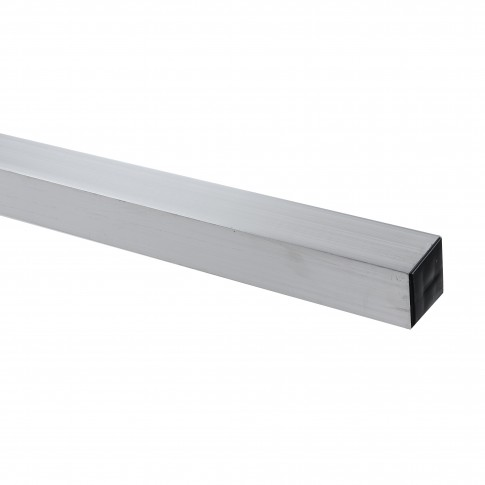 Dreptar aluminiu, pentru constructii, Dupu 14905, 50 x 50 x 1,2 mm, 2.5 m