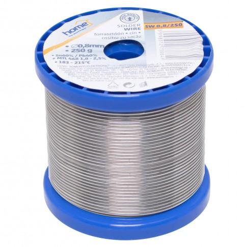 Cositor cu sacaz Home SW 0.8/250, 0.8 mm, 250 g