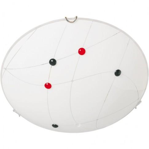 Plafoniera Venus KL 5942, 1 x E27, alba