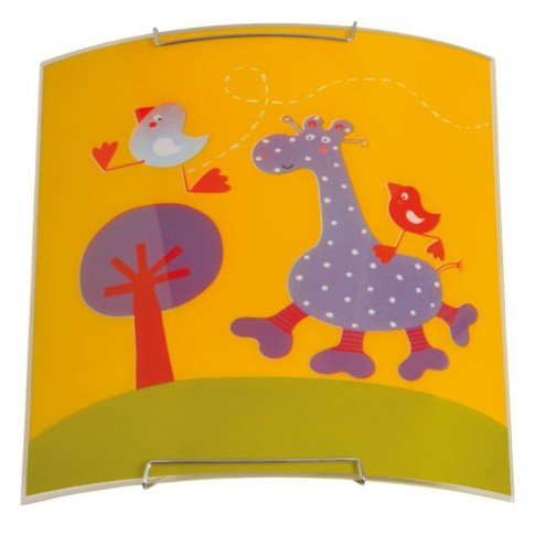 Aplica Giraffe KL 5988, 1 x E27, multicolora