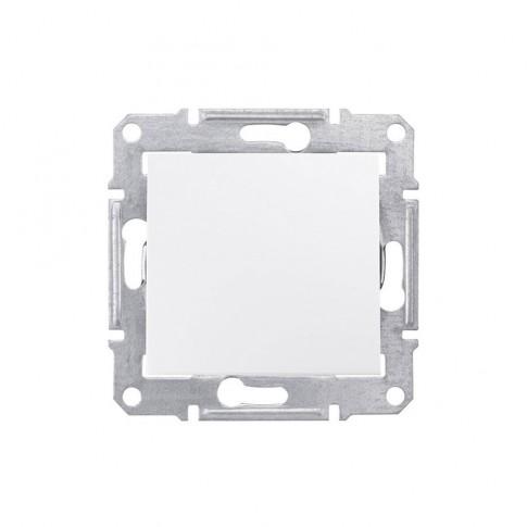 Intrerupator cap scara simplu Schneider Electric Sedna SDN0400121, incastrat, alb