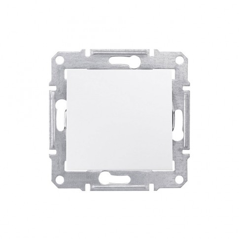 Intrerupator cu revenire Schneider Electric Sedna SDN0700121, incastrat, alb