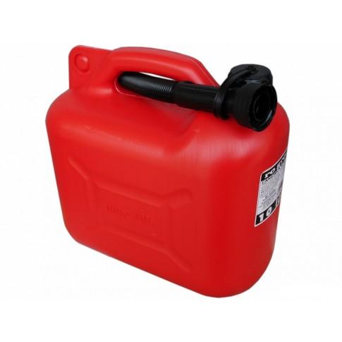Canistra din plastic, pentru combustibil, Ro Group, 10 L + palnie