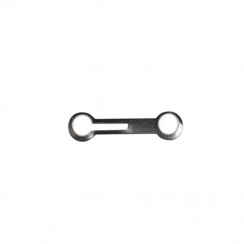 Zala de inchidere pentru lant cu bile, din otel zincat, 2.8 - 3.6 mm