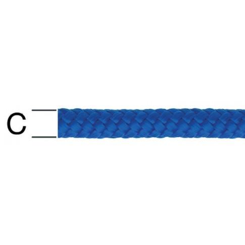 Sfoara polipropilena, albastra, 12 mm
