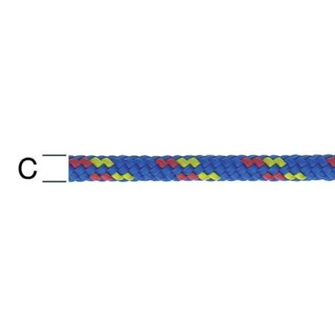 Sfoara polipropilena, multicolora, 4 mm