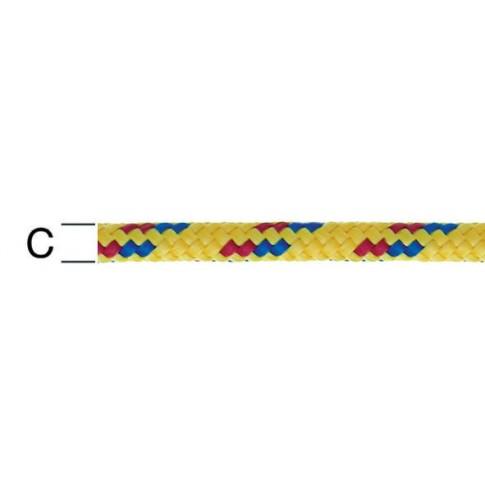 Sfoara polipropilena, multicolora, 5 mm