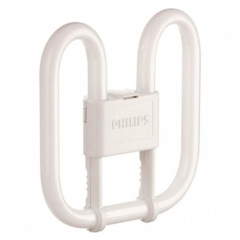 Lampa economica Philips Master PL-Q 4P GR10Q 28W 2050lm lumina calda 2700 K, compatibil cu droser dimabil