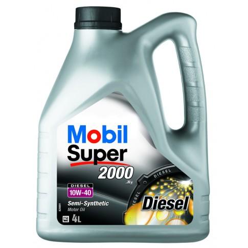 Ulei motor auto Mobil Super diesel 2000 X1, 10W-40, 4 L