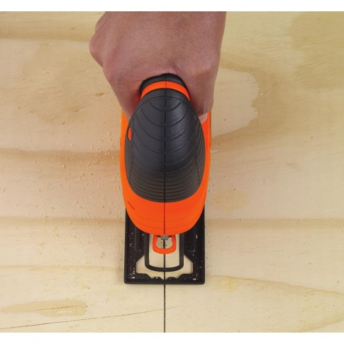 Fierastrau electric vertical, pendular, Black&Decker KS701PEK-XK, 520 W
