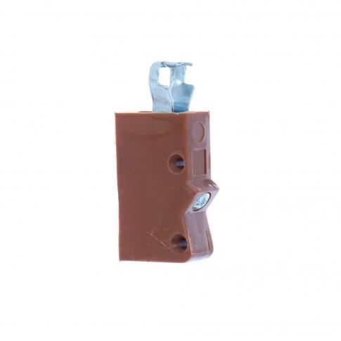 Dispozitive pentru suspendarea corpurilor de mobilier, maro, set 2 bucati