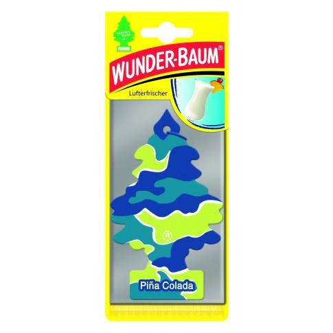 Odorizant auto, bradut, Wunder - Baum, Pina Colada, 7.6 x 0.3 x 19 cm