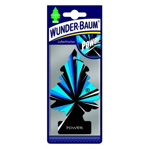 Odorizant auto, bradut, Wunder - Baum, Power, 7.6 x 0.3 x 19 cm
