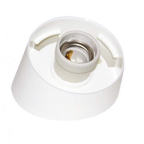 Aplica pentru baie oblica fara glob, 1 x E27, IP20