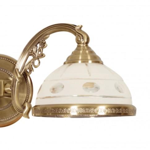 Aplica Camille KL 7020, 2 x E27, bronz + alb