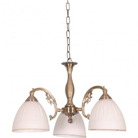 Lustra Victoria KL 7011, 3 x E27, bronz + alb