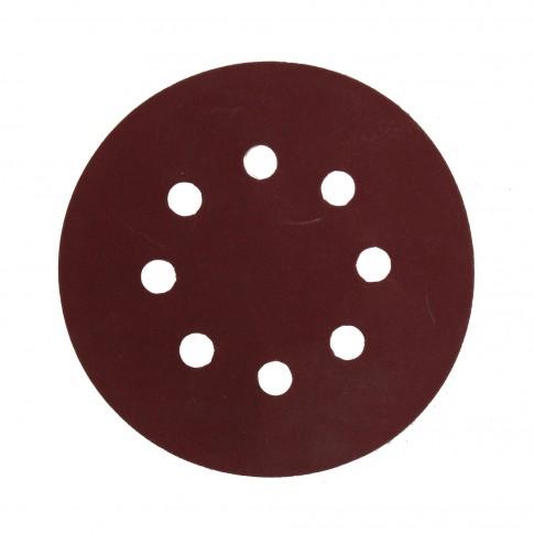 Disc abraziv cu autofixare, pentru lemn / metale, Carboas HENR, 125 mm, granulatie 320